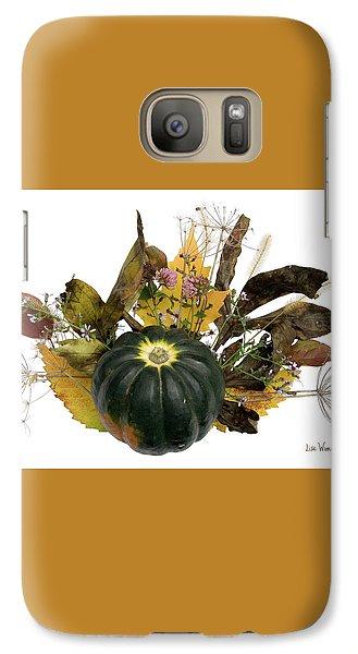 Galaxy Case featuring the digital art Acorn Squash Bouquet by Lise Winne