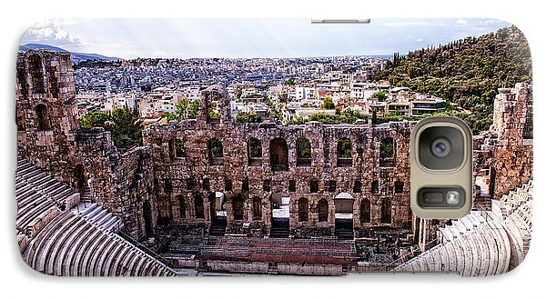 Galaxy Case featuring the photograph Acropolis by Linda Constant
