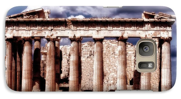 Galaxy Case featuring the photograph Acropolis Of Greece by Linda Constant