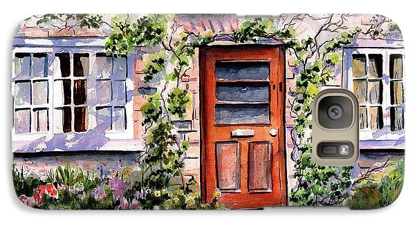 Galaxy Case featuring the painting Adare Ireland Cottage by Marti Green