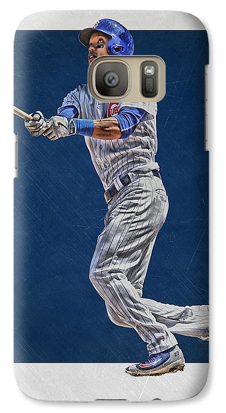 Addison Russell Chicago Cubs Art Galaxy S7 Case