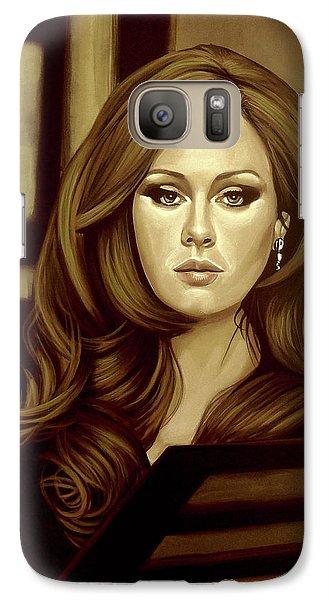 Adele Gold Galaxy S7 Case