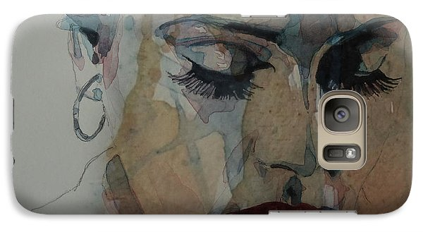 Adele - Make You Feel My Love  Galaxy S7 Case by Paul Lovering
