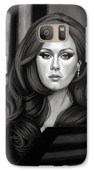 Adele Mixed Media Galaxy S7 Case