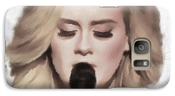 Adele Portrait Hello Galaxy S7 Case