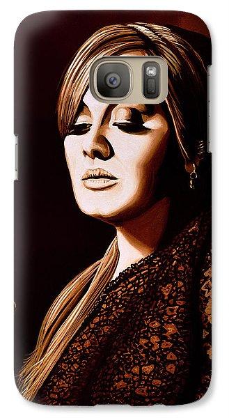Adele Skyfall Gold Galaxy S7 Case