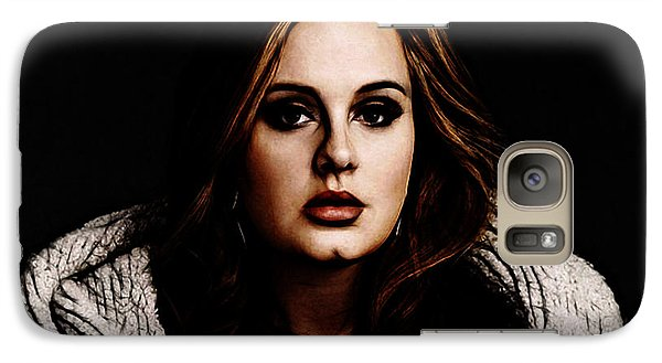 Adele Galaxy S7 Case by The DigArtisT