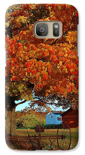 Galaxy Case featuring the photograph Adirondack Autumn Color by Diane E Berry
