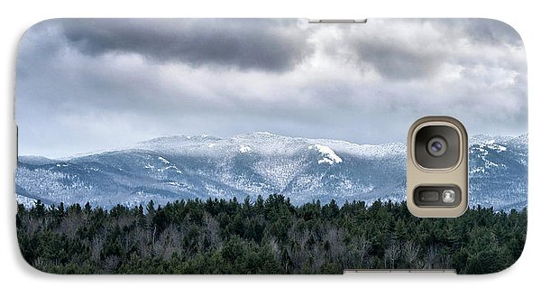 Galaxy Case featuring the photograph Adirondack High Peaks During Winter - New York by Brendan Reals