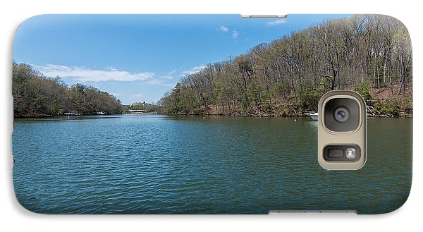 Galaxy Case featuring the photograph Weeks Creek At Admiral Heights by Charles Kraus
