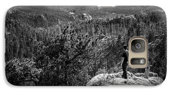 Galaxy Case featuring the photograph Needles Point South Dakota by Jason Moynihan