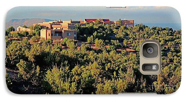 Galaxy Case featuring the photograph Adobe Homestead Santa Fe by Diana Mary Sharpton