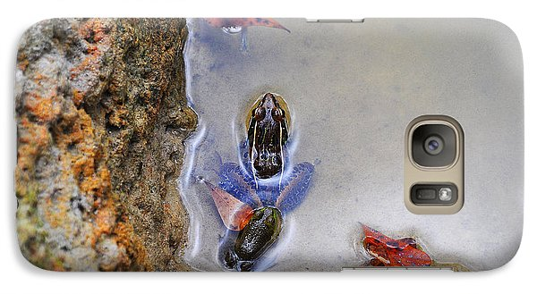 Galaxy Case featuring the photograph Adopted Amphibian by Al Powell Photography USA