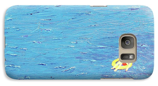 Galaxy Case featuring the painting Adrift by Thomas Blood
