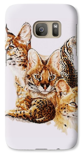 Galaxy Case featuring the drawing Adroit by Barbara Keith