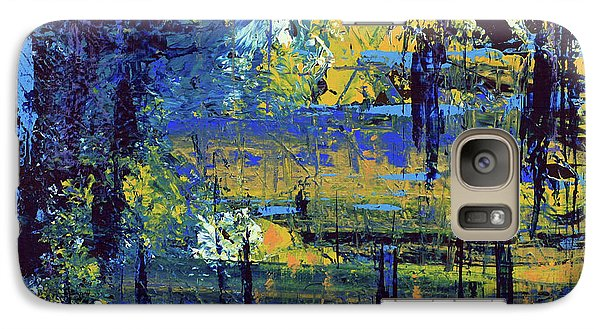 Galaxy Case featuring the painting Adventure  by Cathy Beharriell