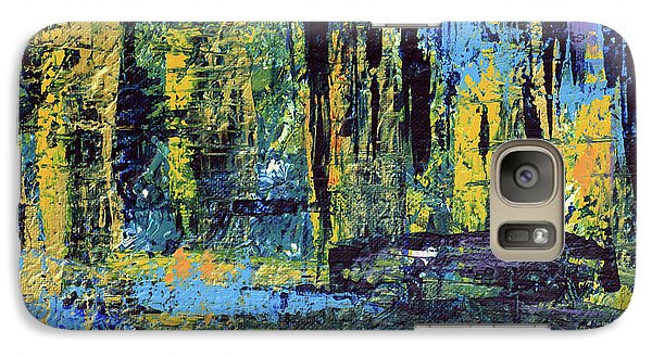 Galaxy Case featuring the painting Adventure II by Cathy Beharriell