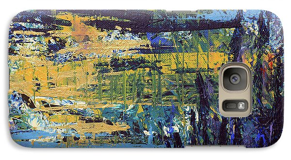 Galaxy Case featuring the painting Adventure IIi by Cathy Beharriell