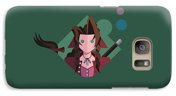 Galaxy Case featuring the digital art Aeris by Michael Myers