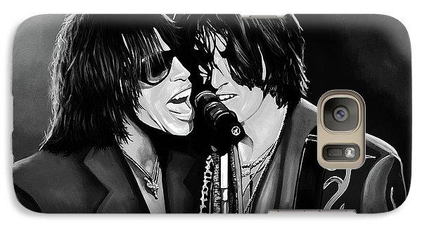 Aerosmith Toxic Twins Mixed Media Galaxy Case by Paul Meijering