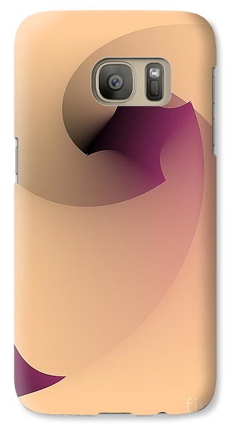Galaxy Case featuring the digital art Affect by Leo Symon