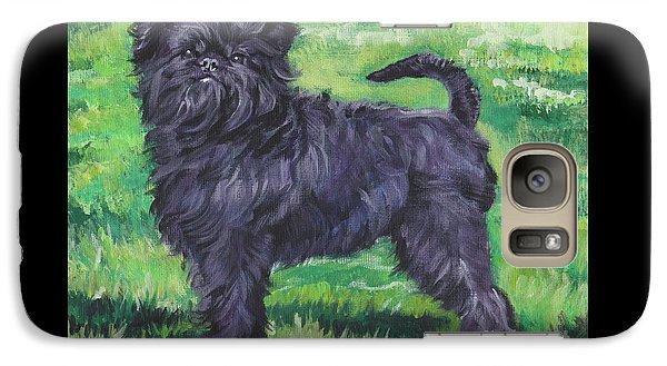 Galaxy Case featuring the painting Affenpinscher by Lee Ann Shepard