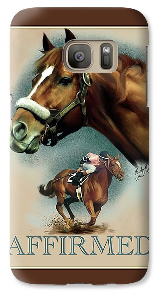 Affirmed With Name Decor Galaxy S7 Case