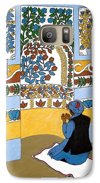 Galaxy Case featuring the painting Afghan Mosque by Stephanie Moore
