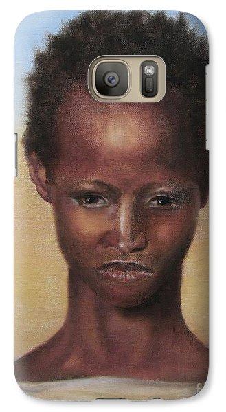 Galaxy Case featuring the painting Africa by Annemeet Hasidi- van der Leij