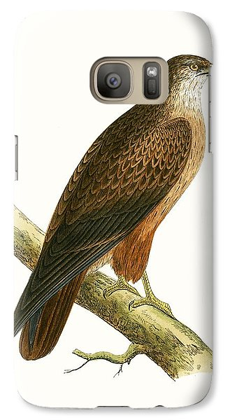 African Buzzard Galaxy S7 Case by English School