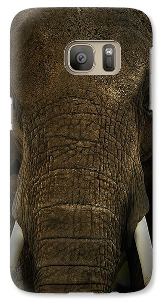 Galaxy Case featuring the photograph African Elephant by Michael Cummings