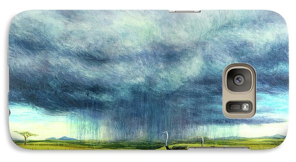 African Storm Galaxy S7 Case by Tilly Willis