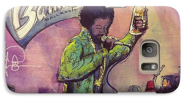 Galaxy Case featuring the painting Afroman At Barkleys by David Sockrider