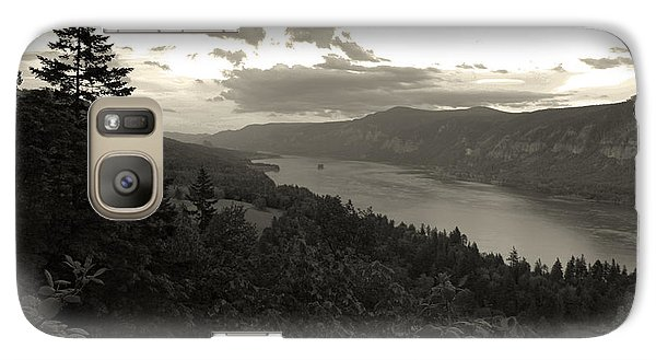 Galaxy Case featuring the photograph After Sunset On The Columbia by Joanne Coyle