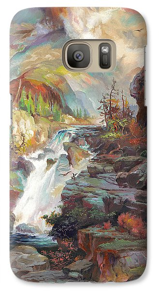 Galaxy Case featuring the painting After T. Moran by John Norman Stewart