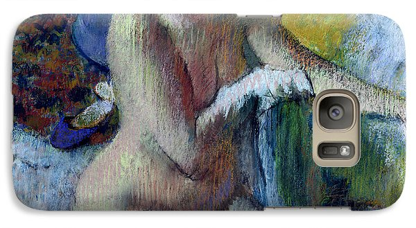 Nudes Galaxy S7 Case - After The Bath by Edgar Degas
