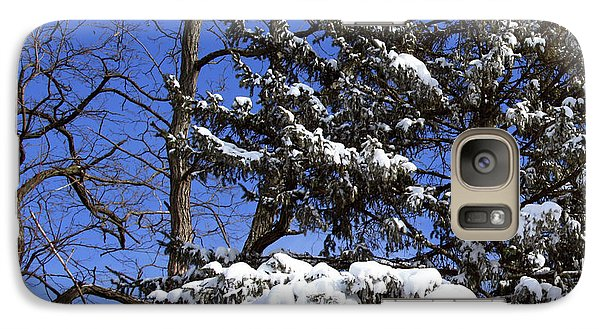 Galaxy Case featuring the photograph After The Blizzard by Joanne Coyle