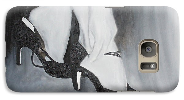 Galaxy Case featuring the painting After The Dance by Keith Thue