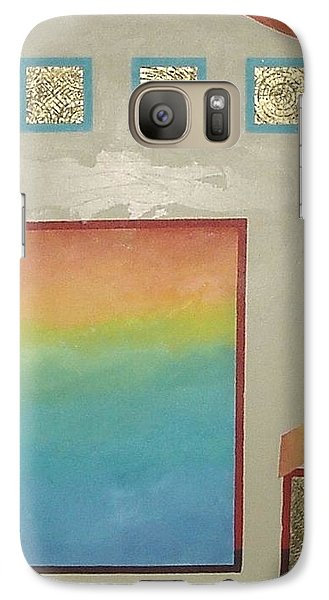Galaxy Case featuring the painting After The Rain by Bernard Goodman