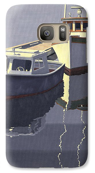 Galaxy Case featuring the painting After The Rain by Gary Giacomelli