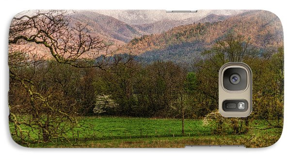 Galaxy Case featuring the photograph After The Spring Rain by Rebecca Hiatt