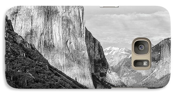 Galaxy Case featuring the photograph Afternoon At El Capitan by Sandra Bronstein