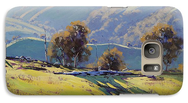 Realistic Galaxy S7 Case - Afternoon Light Lithgow by Graham Gercken