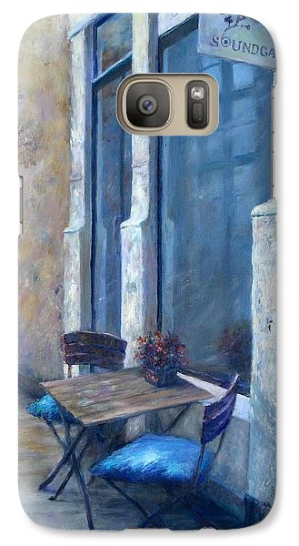 Galaxy Case featuring the painting Afternoon Reflections by Bonnie Goedecke