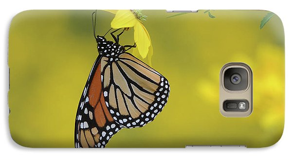 Galaxy Case featuring the photograph Afternoon Snack by Ann Bridges