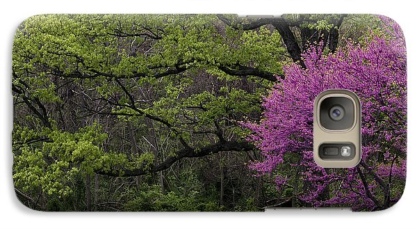 Galaxy Case featuring the photograph Afton Virginia Spring Red Bud by Kevin Blackburn