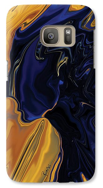 Galaxy Case featuring the digital art Against The Wind by Rabi Khan