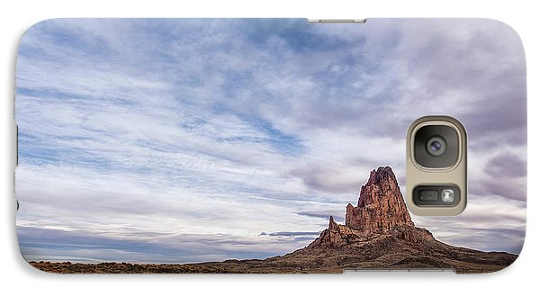 Galaxy Case featuring the photograph Agathla Wakes Up by Jon Glaser