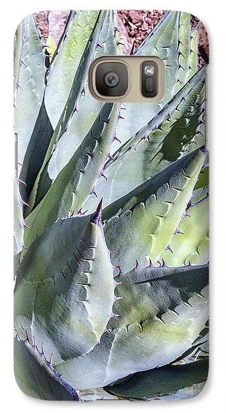 Galaxy Case featuring the photograph Agave by Anthony Citro