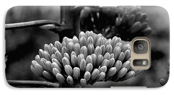 Galaxy Case featuring the photograph Agave Buds by Vicki Pelham